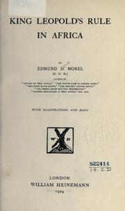 King Leopold's rule in Africa PDF