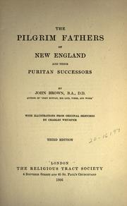 The Pilgrim fathers of New England and their Puritan successors by Brown, John
