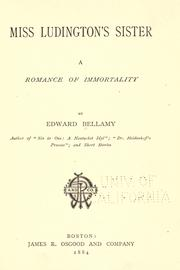 Miss Ludington's sister, a romance of immortality PDF