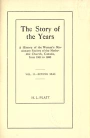 The story of the years PDF