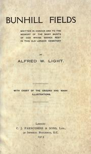 Bunhill Fields by Alfred W. Light