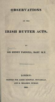 Observations on the Irish butter acts PDF
