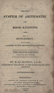A short system of arithmetic and book-keeping PDF