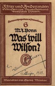 Was will Wilson? PDF