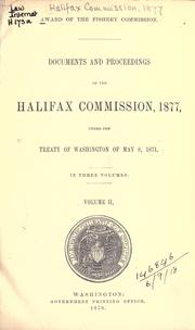 Award of the fishery commission PDF