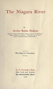 The Niagara River by Archer Butler Hulbert