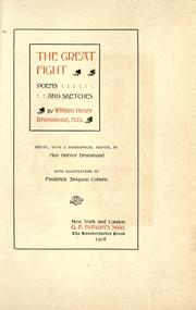 The great fight by Drummond, William Henry