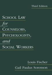 School law for counselors, psychologists, and social workers PDF