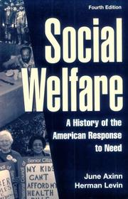 Social welfare by June Axinn