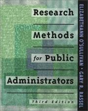 Research methods for public administrators PDF