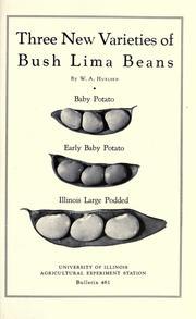 Three new varieties of bush lima beans PDF