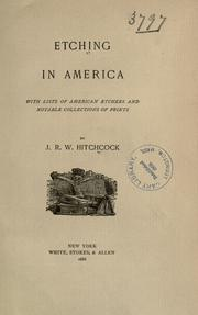 Etching in America