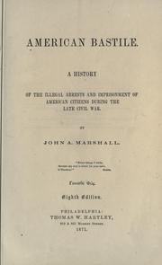 American bastile by John A. Marshall