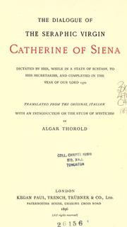 Libro della divina dottrina by Catherine of Siena, Saint