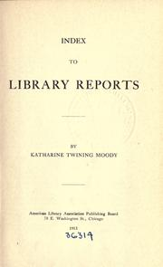 Index to library reports PDF