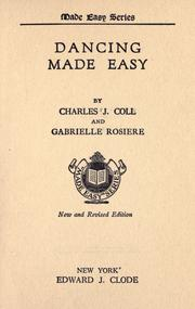 Dancing made easy by Charles J. Coll