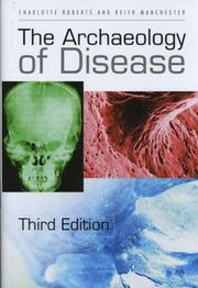 The archaeology of disease PDF