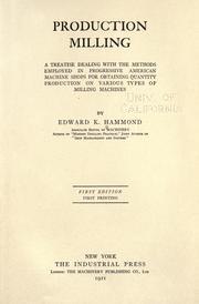 Production milling PDF