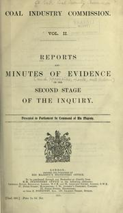 Reports and minutes of evidence ... [and Appendices, charts, and indexes ...] PDF