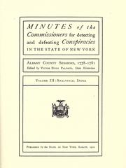 Minutes: Albany County sessions, 1778-1781 PDF