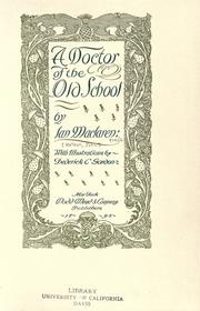 A doctor of the old school PDF