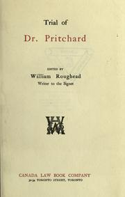Trial of Dr. Pritchard by Edward William Pritchard