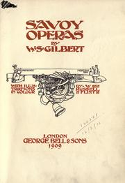 The Savoy operas by Gilbert, W. S.