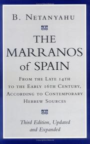 The Marranos of Spain by B. Netanyahu