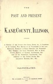 Cover of: The past and present of Kane County, Illinois by H. B. Peirce