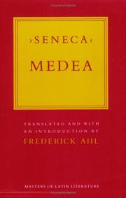 Medea by Seneca the Younger