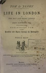 Life in London by Egan, Pierce