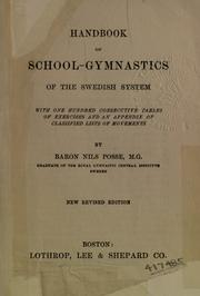 Handbook of school-gymnastics of the Swedish system by Posse, Nils friherre