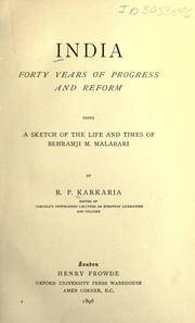 India, forty years of progress and reform PDF