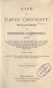 Life of David Crockett by Davy Crockett