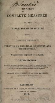 The complete measurer by William Hawney