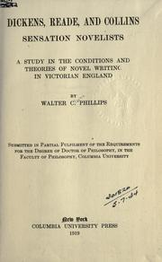Dickens, Reade, and Collins, sensation novelists by Walter Clarke Phillips