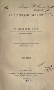 The principles of surgery by Syme, James.