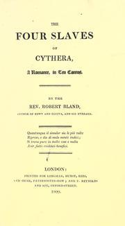 The four slaves of Cythera PDF