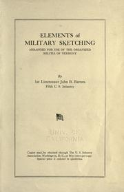 Elements of military sketching by Barnes, John B.