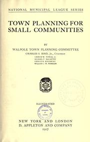 Town planning for small communities PDF