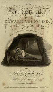 The complaint: or, night-thoughts by Edward Young