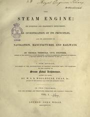 The steam engine by Tredgold, Thomas