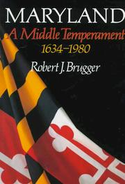 Maryland, A Middle Temperament PDF