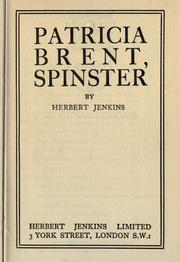 Patricia Brent, spinster.