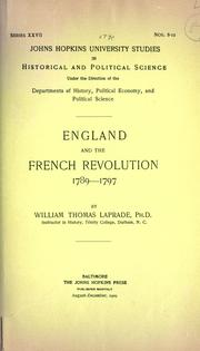 England and the French Revolution, 1789-1797 PDF