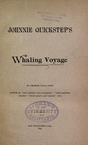 Johnnie Quickstep's whaling voyage PDF