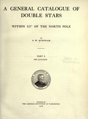 A general catalogue of double stars within 121 degrees of the North pole PDF