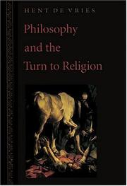 Philosophy and the Turn to Religion PDF