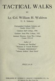 Tactical walks by Waldron, William H.