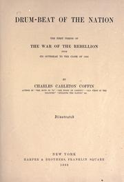 Drum-beat of the nation by Charles Carleton Coffin